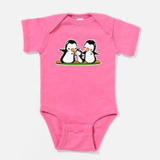 I Love Mom (3) Baby Bodysuit