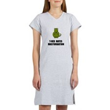 T Rex Masturbation Women's Nightshirt
