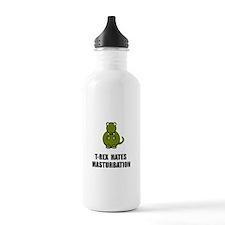 T Rex Masturbation Water Bottle