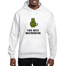 T Rex Masturbation Hoodie