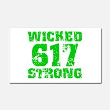 Wicked 617 Strong Car Magnet 20 x 12