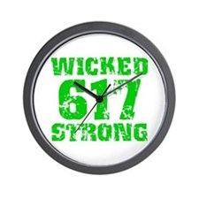 Wicked 617 Strong Wall Clock