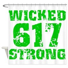 Wicked 617 Strong Shower Curtain