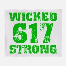 Wicked 617 Strong Throw Blanket