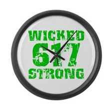 Wicked 617 Strong Large Wall Clock