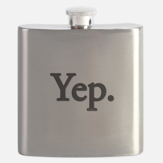 Yep. Flask