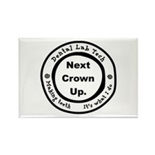 Next Crown Up. Rectangle Magnet