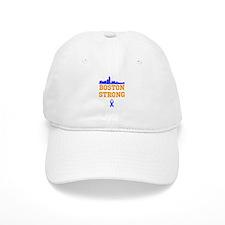 Boston Strong Ribbon Design Baseball Baseball Cap