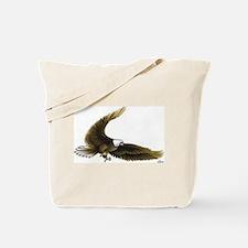 Eagle Attacking Tote Bag