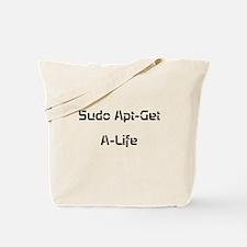 Apt-Get A-Life Tote Bag