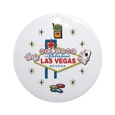 Welcome to Fabulous Las Vegas Ornament (Round)