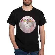 7 Months Cupcake Milestone T-Shirt