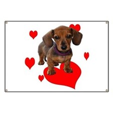 Love Dachshunds Banner