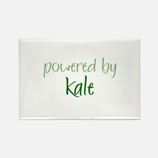 Powered By kale Rectangle Magnet