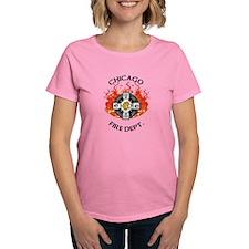 Women's CFD Flame Logo T-Shirt