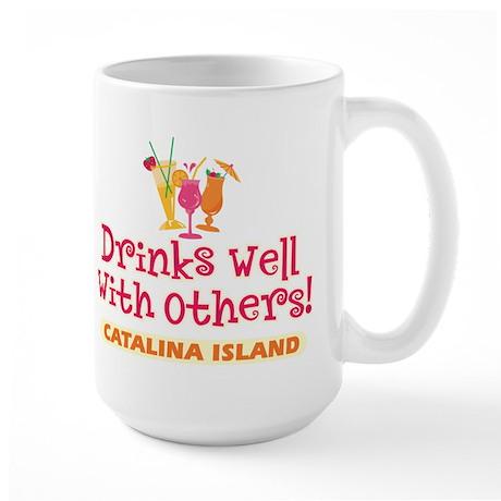 Catalina Island-Drinks Well Large Mug