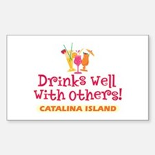 Catalina Island-Drinks Well Decal
