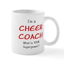 cheer coach Small Mug