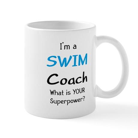 swim coach Mug