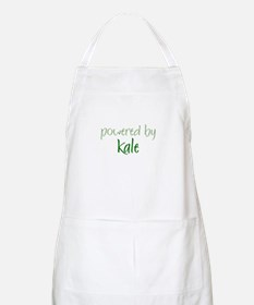 Powered By kale BBQ Apron