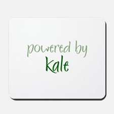 Powered By kale Mousepad