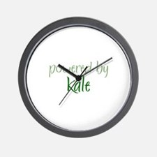 Powered By kale Wall Clock