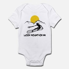 Loon Mountain Snowboarding Infant Bodysuit