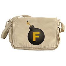 F-Bomb Messenger Bag