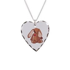 Stuffed Bunny Necklace