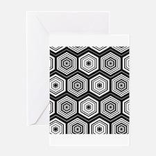 Hexagon Law Greeting Card
