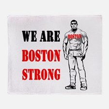 Boston Strong Flag Throw Blanket