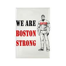 Boston Strong Flag Rectangle Magnet