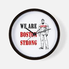 Boston Strong Flag Wall Clock