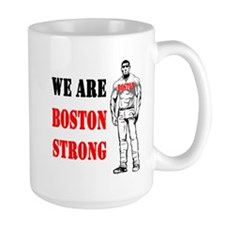 Boston Strong Flag Mug