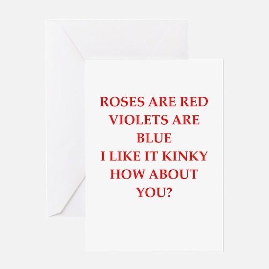 poem Greeting Card