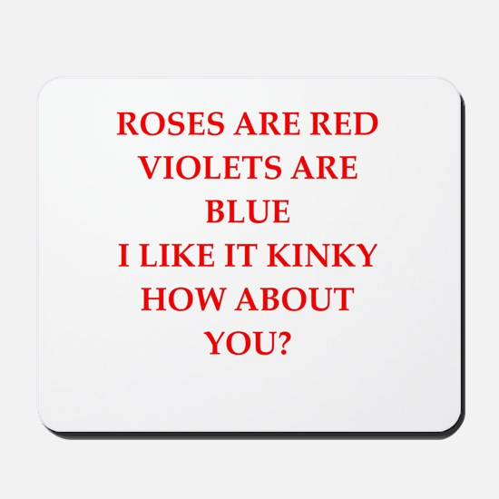 poem Mousepad