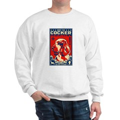 Obey the English Cocker Spaniel! Sweatshirt