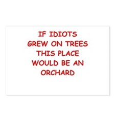 idiots Postcards (Package of 8)