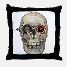 Wingnut Gearhead Throw Pillow