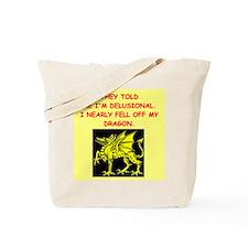 delusional Tote Bag