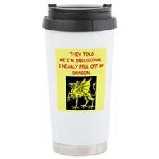 delusional Travel Mug