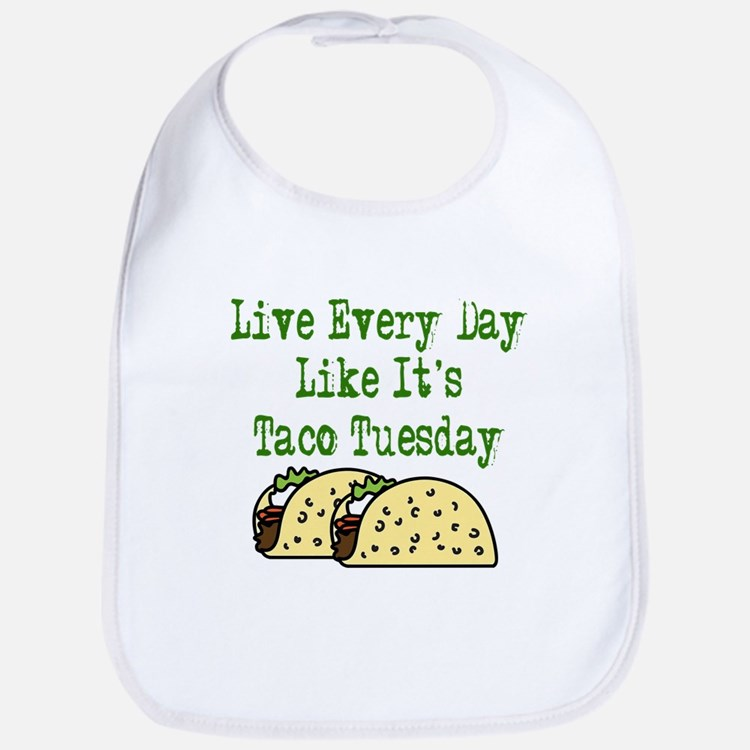 Taco Tuesday Bib