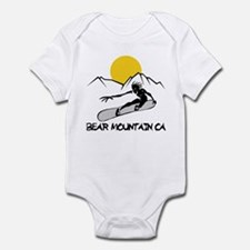 Bear Mountain Snowboarding Infant Bodysuit
