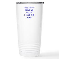 crazy Travel Mug