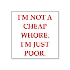cheap Sticker