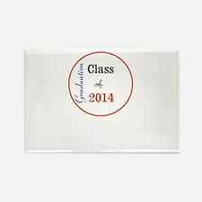 Graduation Class of 2014 Rectangle Magnet (100 pac