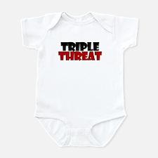 Triple Threat Infant Bodysuit