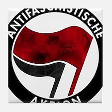Antifa Logo Tile Coaster