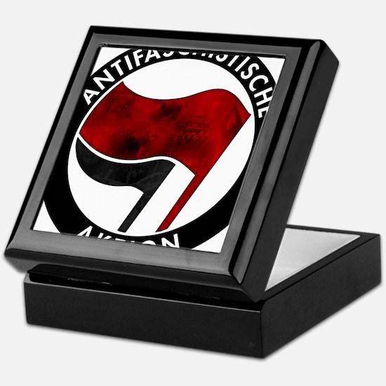 Antifa Logo Keepsake Box
