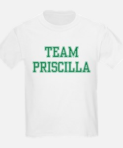 TEAM PRISCILLA  Kids T-Shirt
